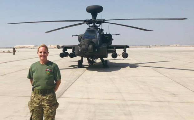 Senior Aircraftman Sam Stevens on deployment with the RAF Reservists in the Middle East