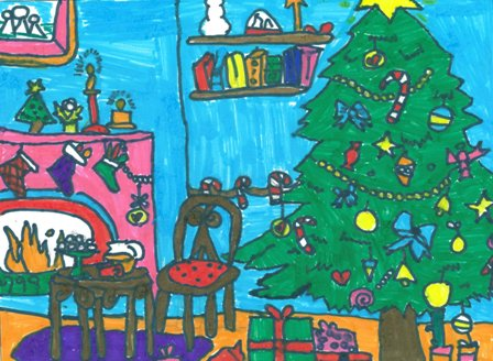 sam scarrott community fund panel member and one of the competition judges at central surrey health says we were so pleased with the response from local - Best Interactive Christmas Cards